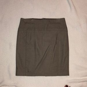 Beige pencil skirt, size 4